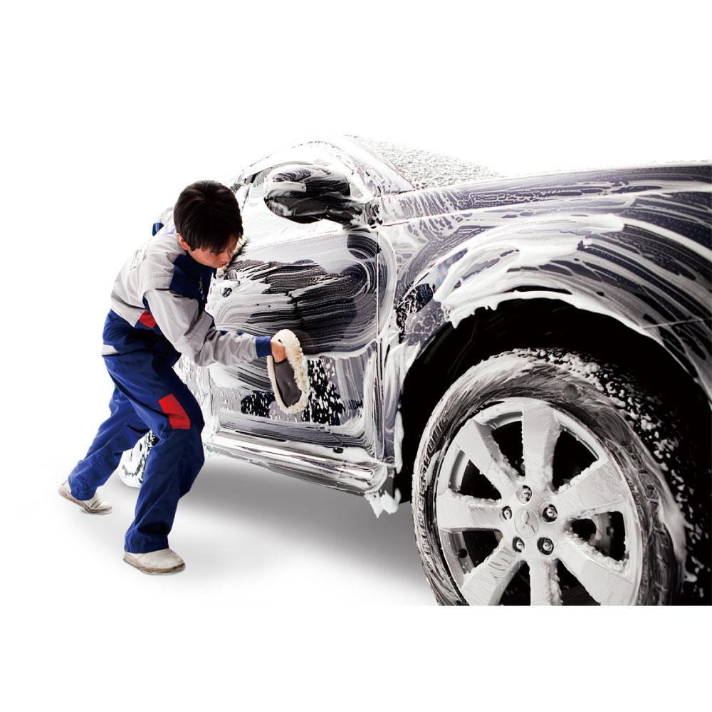 プレミアム手洗い洗車