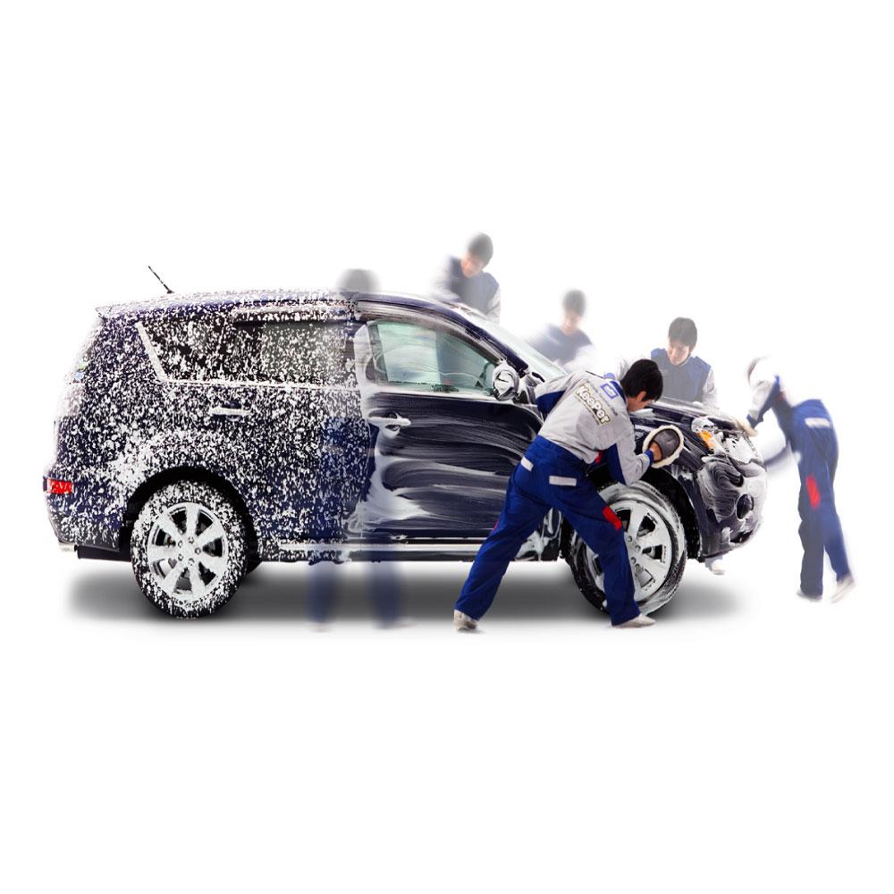 快速手洗い洗車