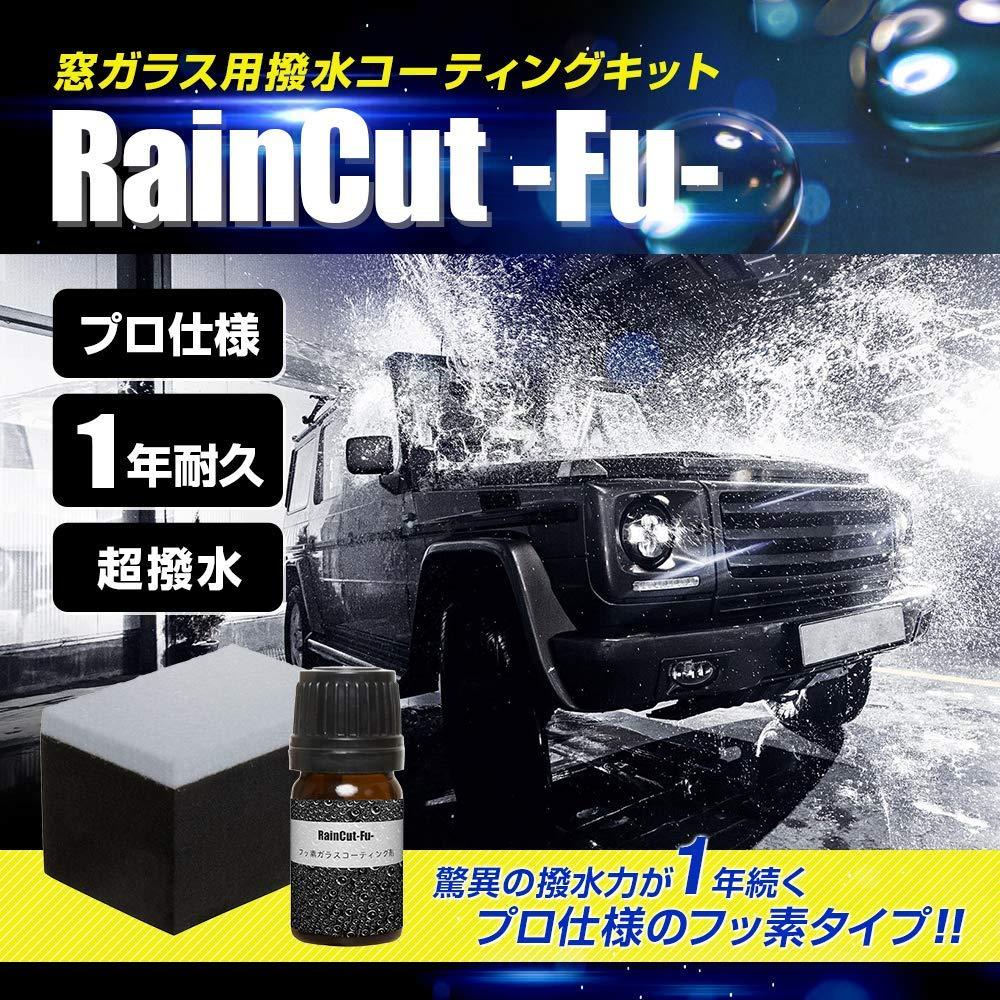RainCutウィンドガラス強力撥水コート(手洗い洗車込み)